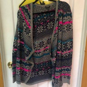 Torrid Size 2 Knit Drape Cardigan